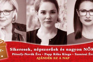 Adventi könyvesbuli az Örkényben: Péterfy-Novák Éva, Szentesi Éva & PRK