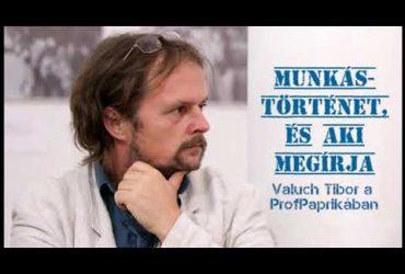 Munkástörténet, és aki megírja: Valuch Tibor a ProfPaprikában