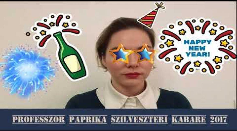 Szilveszteri kabaré 2017 a ProfPaprikában